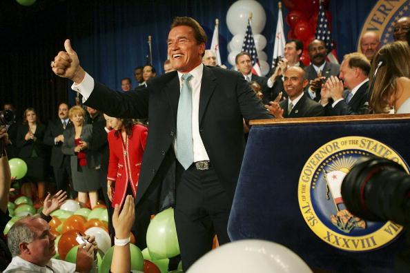 Governor「Schwarzenegger Celebrates Re-election As Governor」:写真・画像(3)[壁紙.com]