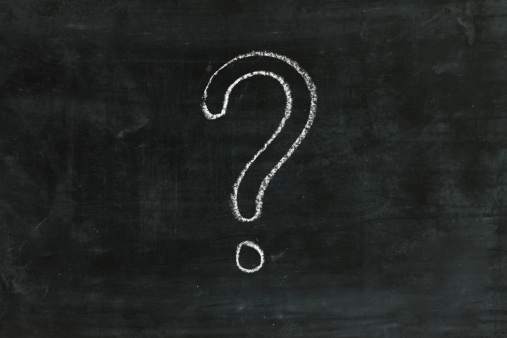 Chalk - Art Equipment「Question mark on chalkboard」:スマホ壁紙(0)