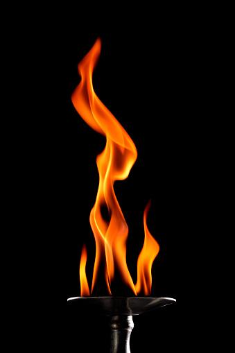 Spirituality「burning torch」:スマホ壁紙(2)