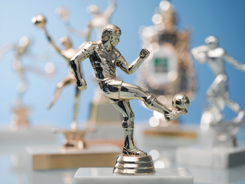 Award「Soccer Trophy」:スマホ壁紙(15)