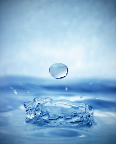 Hope - Concept「Drop Splashing into Water」:スマホ壁紙(17)