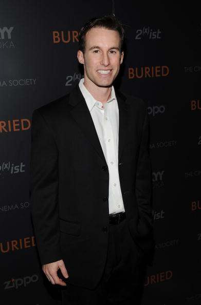 """Chris Sparling「The Cinema Society And 2(x)ist Host A Screening Of """"Buried"""" - Arrivals」:写真・画像(8)[壁紙.com]"""