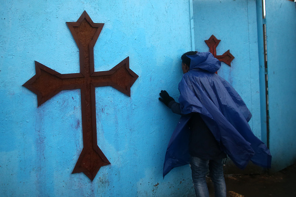 Calais「Christmas Is Celebrated By Orthodox Christians At The Calais Jungle」:写真・画像(16)[壁紙.com]