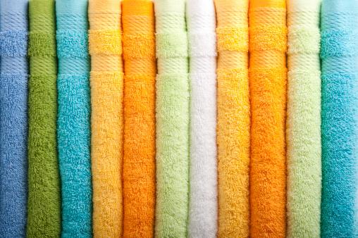 Heap「Colorful towels」:スマホ壁紙(2)