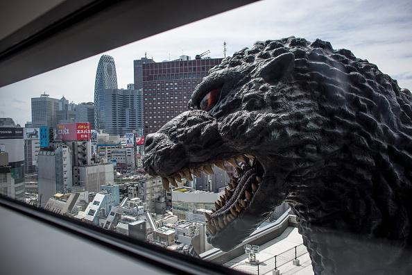 Tokyo - Japan「Godzilla Welcomes Tourists To Tokyo」:写真・画像(6)[壁紙.com]