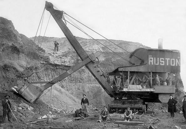 1900「Steam excavator by Ruston et Proctor, c. 1900」:写真・画像(9)[壁紙.com]