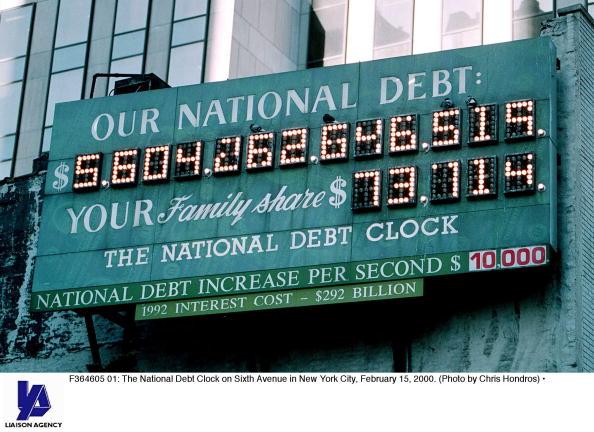 Debt「National Debt Clock in New York City」:写真・画像(8)[壁紙.com]