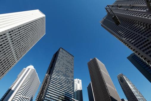 Tokyo - Japan「Shinjuku skyscrapers」:スマホ壁紙(0)