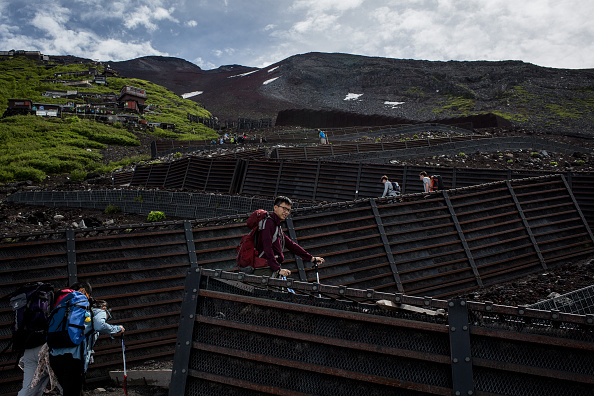 Mount Fuji「Mount Fuji Climbing Season Begins」:写真・画像(3)[壁紙.com]