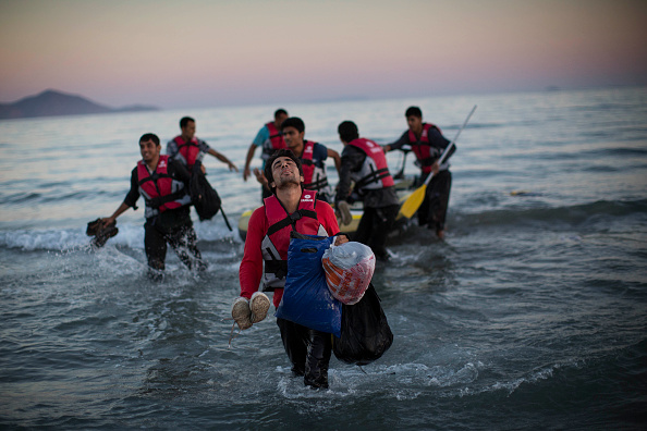 Mediterranean Sea「Migrants Begin Their Journey Through Europe In Kos」:写真・画像(0)[壁紙.com]