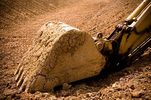 Bulldozer「Excavator Bucket Resting」:スマホ壁紙(15)