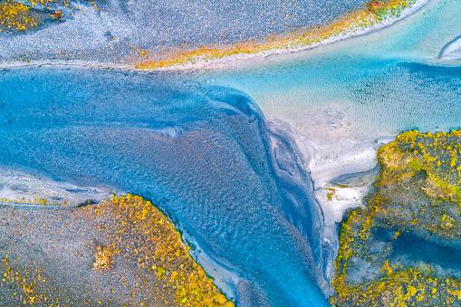 Volcanic Landscape「Crystal clear river in Iceland」:スマホ壁紙(6)