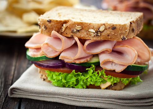 Chicken Meat「Ham and Cheese Sandwich」:スマホ壁紙(16)