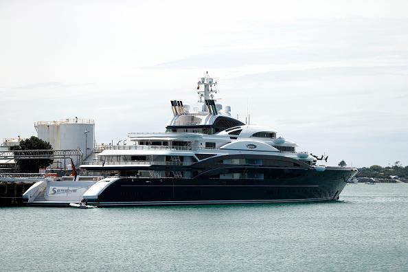 平穏「Superyacht Arrives In New Zealand」:写真・画像(10)[壁紙.com]