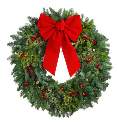 Christmas「Christmas Wreath」:スマホ壁紙(8)