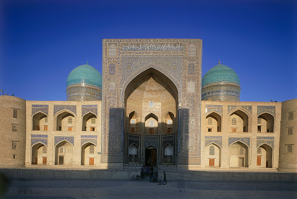 Bukhara「Mir-i-arab Madrassah islamic school. Bukhara, Uzbekistan.」:写真・画像(16)[壁紙.com]