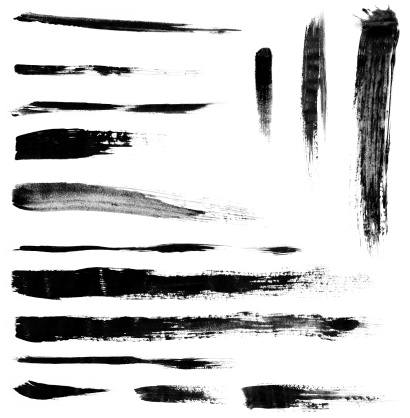 Brush Stroke「Brushstrokes」:スマホ壁紙(10)