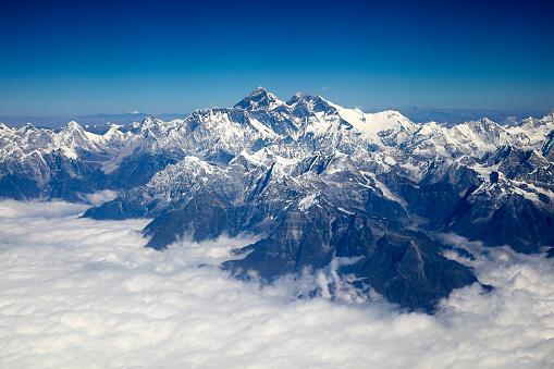 Natural Landmark「Mount Everest, Himalaya, Aerial View」:スマホ壁紙(13)
