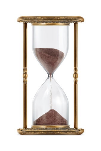 Old-fashioned「Ancient Looking Hourglass」:スマホ壁紙(2)