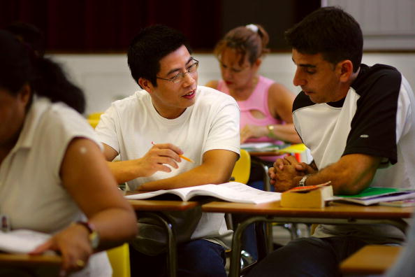 Talking「Miami Schools Teach Adults English As A Second Language」:写真・画像(17)[壁紙.com]