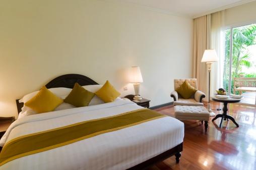 Motel「Luxury classic hotel bedroom suite interior」:スマホ壁紙(16)