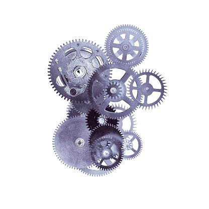 Gear - Mechanism「Metal cogs」:スマホ壁紙(7)