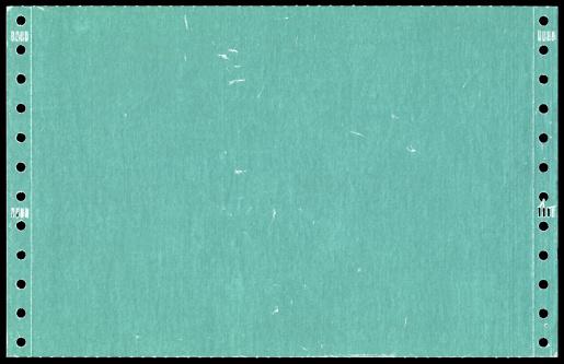 Hole「Green dot matrix printer paper background textured」:スマホ壁紙(4)
