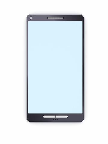 Mobile Phone「Smart phone with empty display」:スマホ壁紙(19)