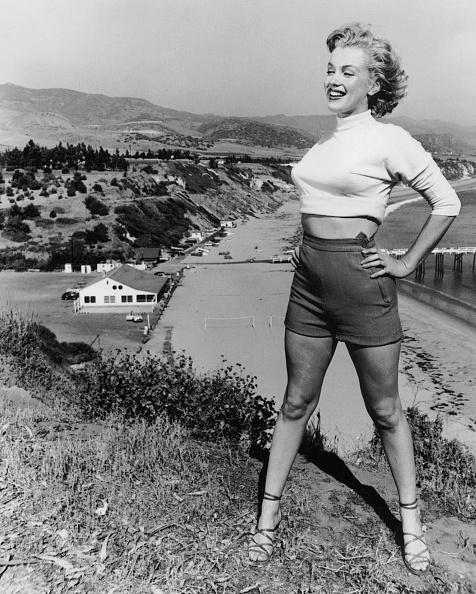 Shorts「Marilyn Monroe in 1953 on California」:写真・画像(1)[壁紙.com]
