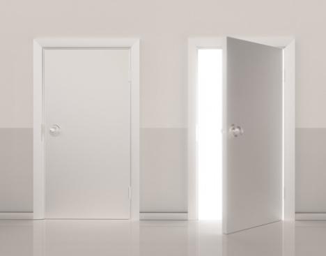 Choice「Two doors side by side, one door open (Digital)」:スマホ壁紙(18)