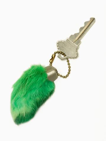 Luck「Green rabbit's foot with key」:スマホ壁紙(18)