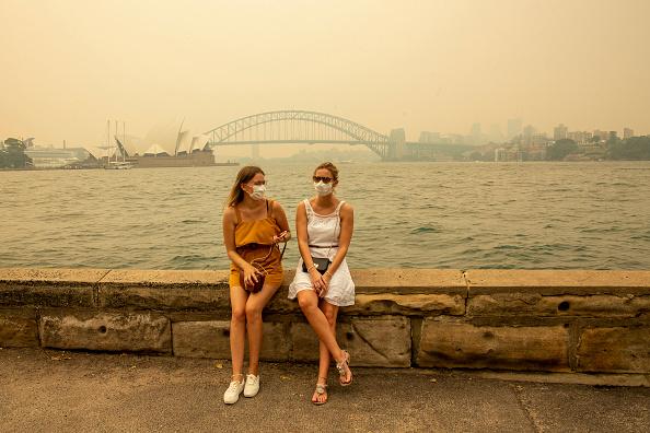 Sydney「Smoke Haze Blankets Sydney As Bushfires Continue To Burn Across NSW」:写真・画像(4)[壁紙.com]