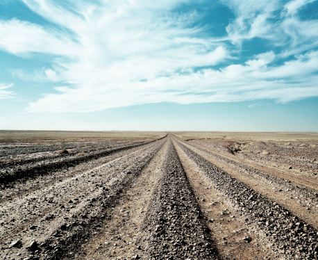 The Way Forward「Outback gravel road」:スマホ壁紙(10)