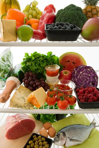 Supermarket「Healthy food in the Refrigerator」:スマホ壁紙(8)