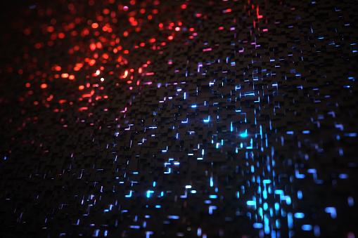 Quantum Computing「Hundreds of cubes representing quantum computing」:スマホ壁紙(3)
