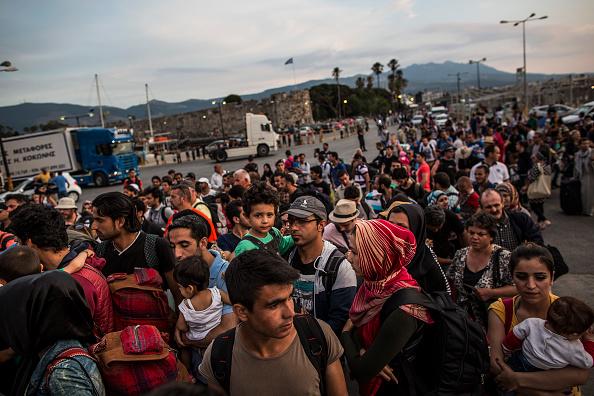 Greece「Migrants Continue To Arrive On Greek Island Of Kos」:写真・画像(5)[壁紙.com]