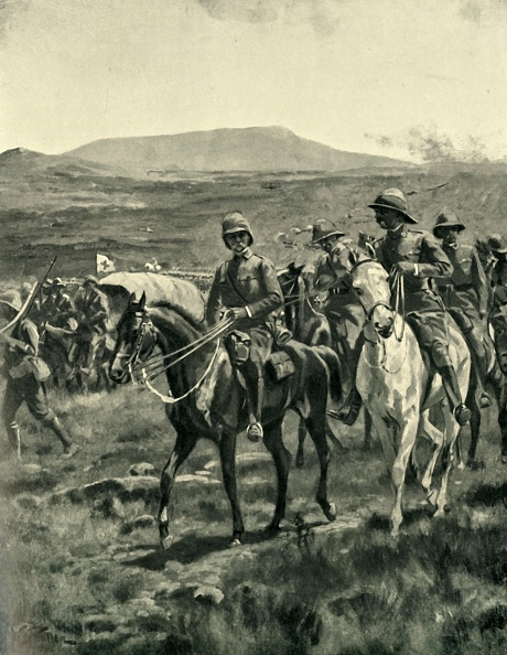 Domestic Animals「Lord Roberts And Staff On The Veldt Approaching Pretoria」:写真・画像(7)[壁紙.com]