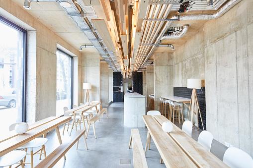 Office「Interior view of modern office」:スマホ壁紙(2)