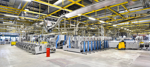 Industrial Equipment「Machines for transport and packaging in a printing shop」:スマホ壁紙(16)