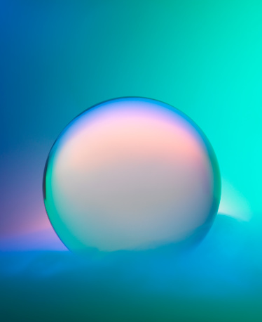 Meteorology「Magic crystal ball with mist and colors」:スマホ壁紙(15)