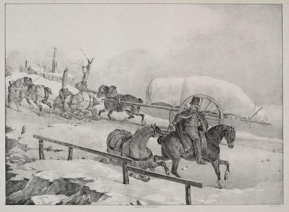Recreational Pursuit「Four Diverse Subjects: Wagon Climbing A Hill. Creator: Théodore Géricault (French」:写真・画像(14)[壁紙.com]