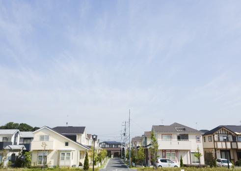 並んでいる「Residential district」:スマホ壁紙(9)