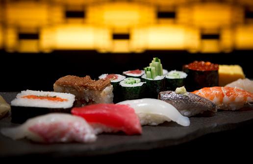 Gourmet「Sushi」:スマホ壁紙(14)
