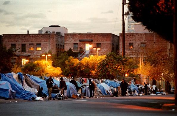 Homelessness「Homeless Live on The Streets Of Hollywood」:写真・画像(1)[壁紙.com]
