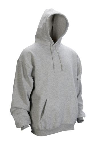 Sweatshirt「Gray hooded, blank sweatshirt front-isolated on white w/clipping path」:スマホ壁紙(11)