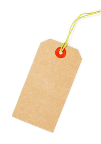Sale「Clean brown Price tag with yellow loop isolated」:スマホ壁紙(10)