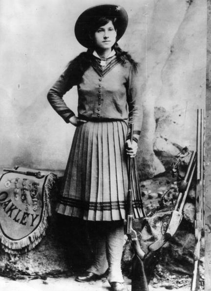 1880-1889「Annie Oakley」:写真・画像(2)[壁紙.com]