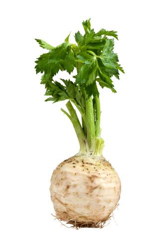 Celeriac「Image of growing celery on white background」:スマホ壁紙(3)