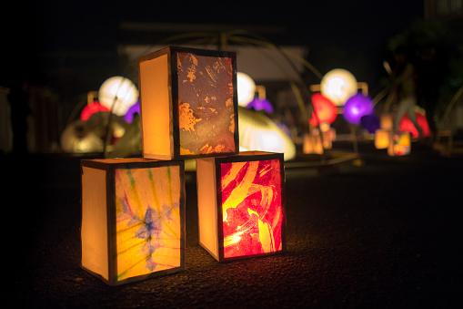 Kimono「Summer candle lights event」:スマホ壁紙(14)