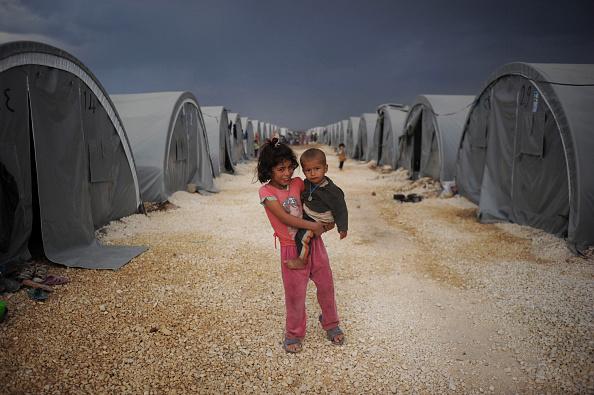 Refugee「Syrian Kurds Battle IS To Retain Control Of Kobani」:写真・画像(18)[壁紙.com]